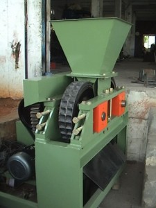 charcoal briquette press machine