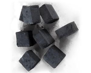 Square shisha charcoal
